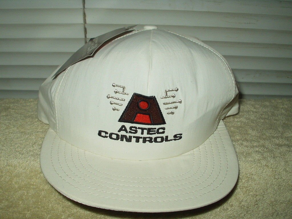 astec controls embroidered baseball hat cap 1 size supplex water resistant nylon