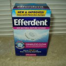 efferdent tablets denture cleanser sealed box of 126