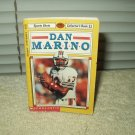 dan marino sports shot collector's book #11 1992 scholastic