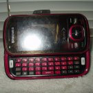 sprint samsung sph-m550 cell phone red no blacklist