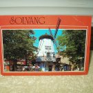 solvang california windmill in hamlet square unused postcard