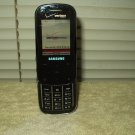 Samsung sch-u490 v verizon slider phone w/ oem data cable & travel charger