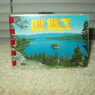"vintage lake tahoe mini photo souvenir book approx 4"" x 2.8"" #a482"