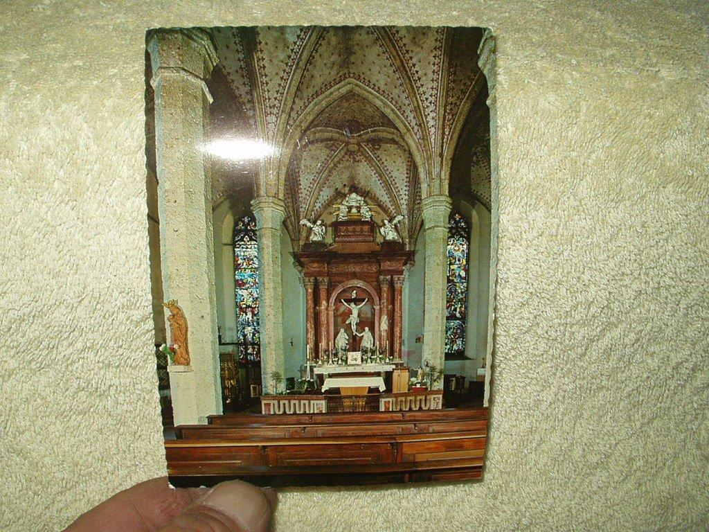 st. blasius church salzburg post card # 1590