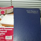 "adams check payment and deposit register 11"" x 8.5"""