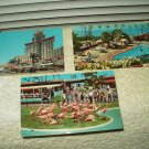 vtg unused el cortez hotel san diego zoo la valencia hotel la jolla california lot of 3 postcards