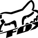 """fox racing vinyl decal sticker 8"""" wide!!"""