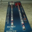 chicago cubs licensed root n write team eraser & pencil set sealed wincraft