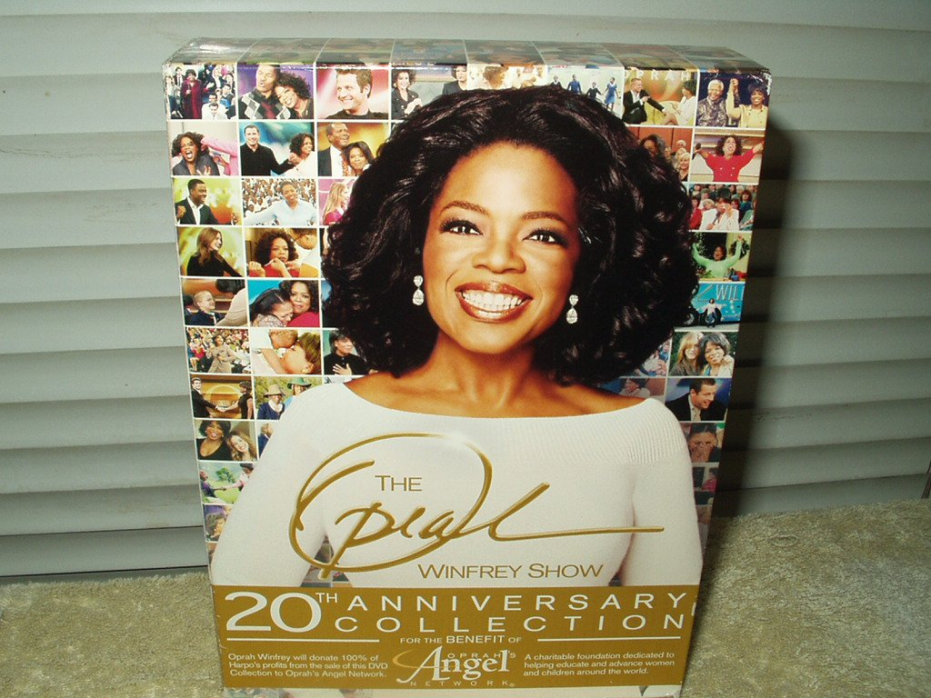 the oprah winfrey show 20th anniversary collection 6 dvd set 1985-2005 over 17 hours!