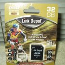 link depot full size sd adapter only for microsdhc uhs grade 3 card