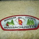 boy scouts vtg mohegan 1911 council massachusetts patch