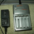 Digicom Rapid Battery Charger AA/AAA NI-CAD NI-MH #DC-RC1 w/ leader power supply
