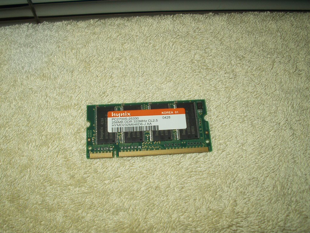 hynix 256MB PC2700S-25330 DDR 333MHz CL2.5 laptop memory ram