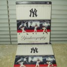 ny new york yankees history yankeeography 3 dvd set volume 2 yes network