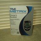true metrix no meter / monitor english & spanish owners booklet only