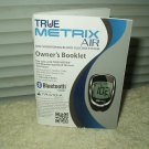 true metrix air glucose meter / monitor *manual only* in english & spanish