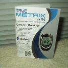 true metrix air glucose meter / monitor *manual only* in english & spanish