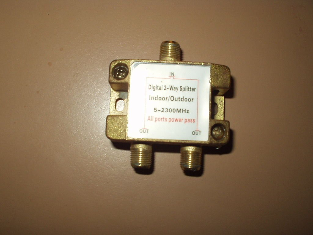 digital 2-way splitter