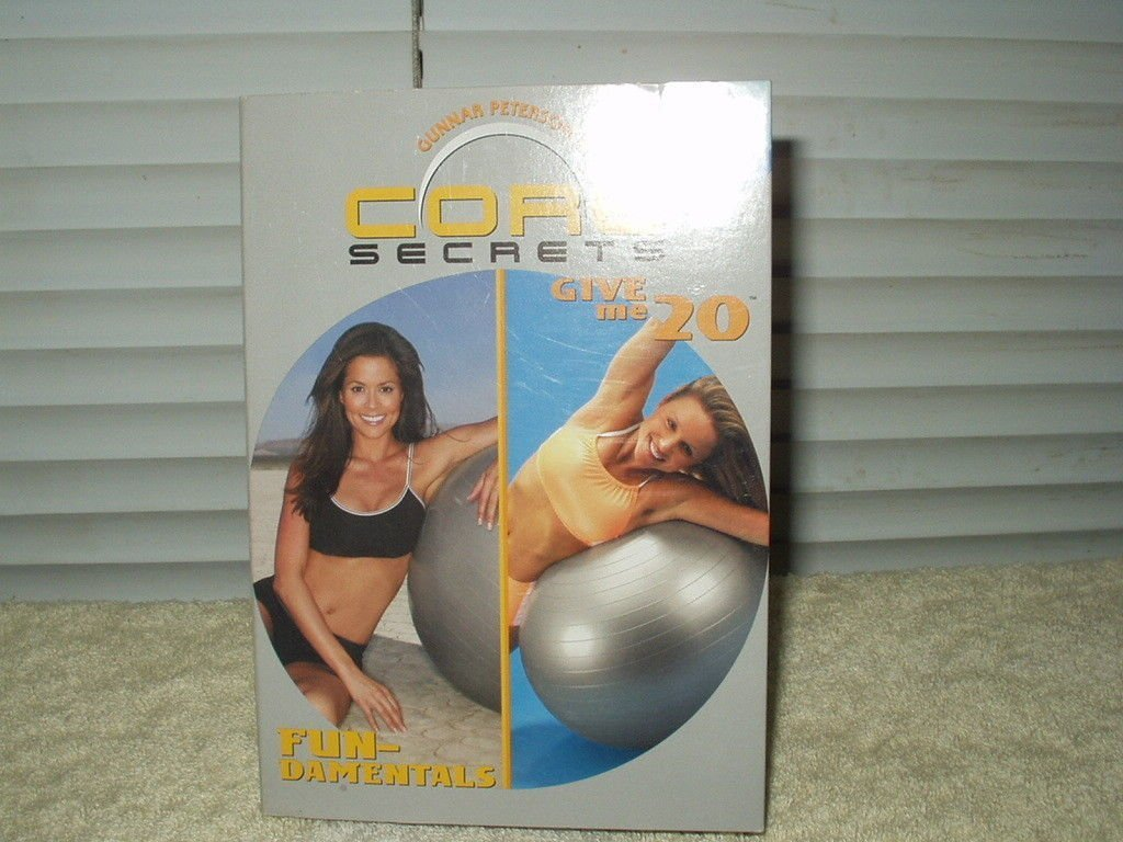 gunnar peterson's core secrets: fundamentals & give me 20 excercise dvd