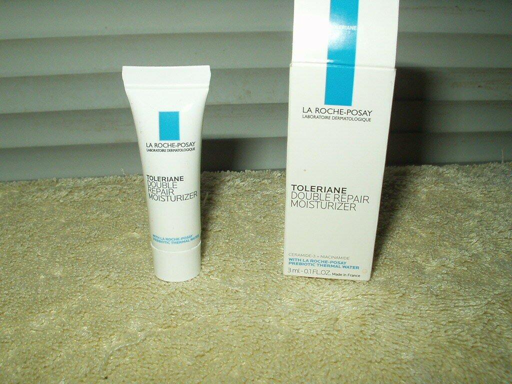 la rouche-posay brand face & neck repair moisturizer .1 oz sample size exp10/19