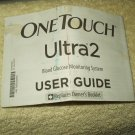 lifescan onetouch ultra 2 ultra2 glucose monitor users guide only