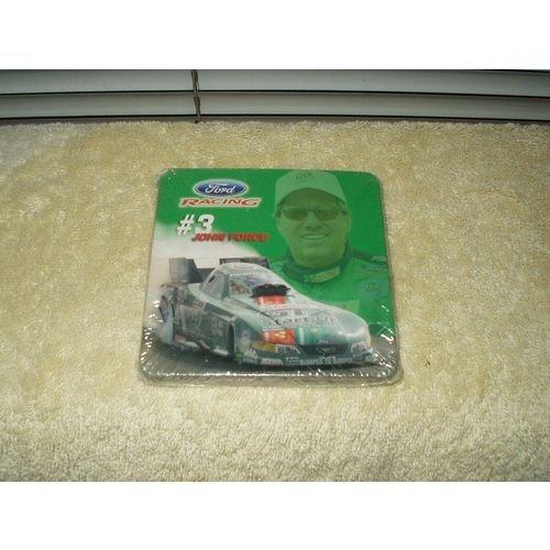 "nascar ford racing john force matt kenseth rick crawford greg biffle 3.75"" coaster?"