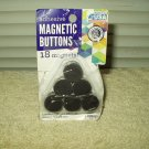 "foam adhesive magnet buttons pack of 18 -- 3/4"" round store return"