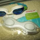 speedo scuba goggles giggles for kids age 3-8 blue lense new out of box