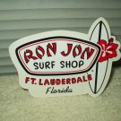 "ron jon surf shop ft. lauderdale florida approx 6.25"" x 5"" sticker authentic"