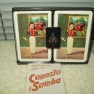 1 deck canasta samba vintage 1940's - 50's mexican playing cards clemente jacques