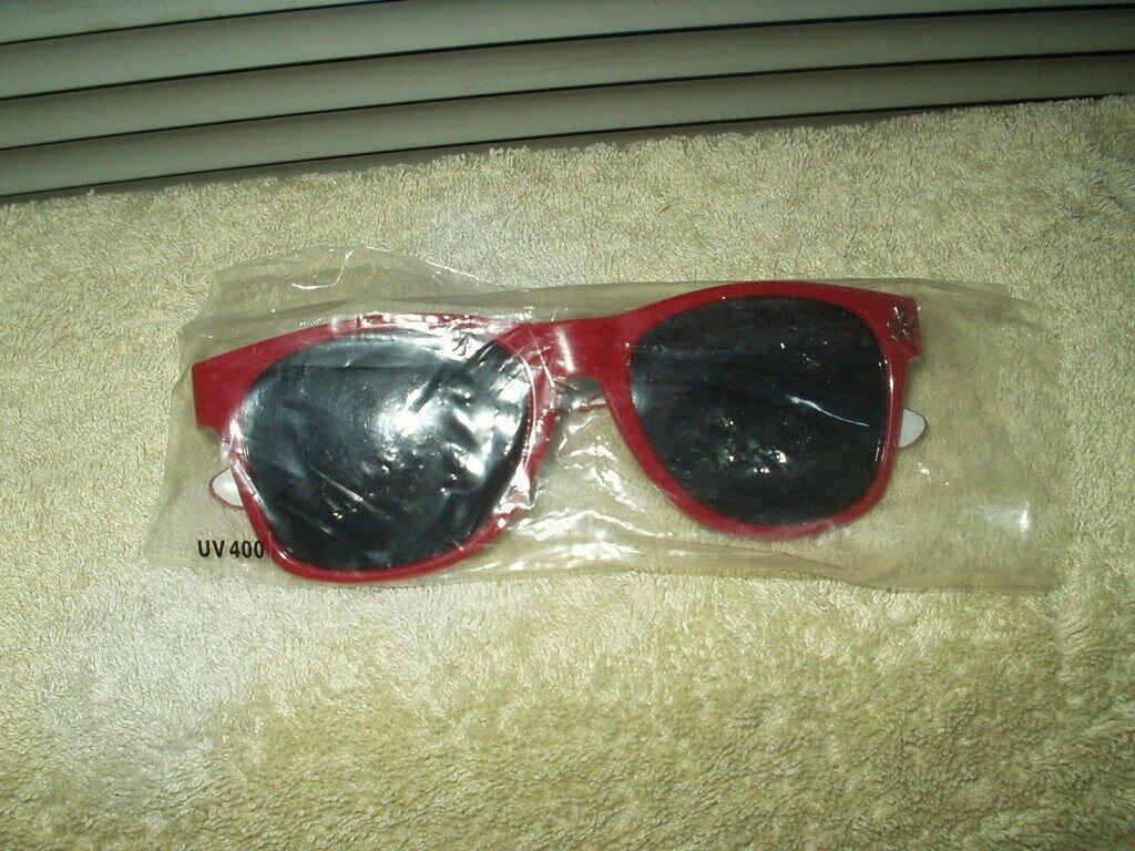 yelp sunglasses burgundy uv400 1 pair
