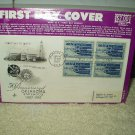 3 cent stamps set of 4 oklahoma statehood 50th anniversary 1st day issue 1957
