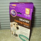 "sentry calming collar lot of 2 ea sealed up to 23"" neck open box"