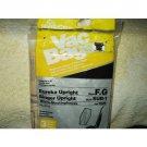 eureka f & g singer sub1 white-westinghouse vip 1020 #3026 3 vacuum bags total