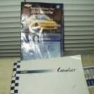 2004 04 gm chevrolet cavalier owners manual with getting to know your guide