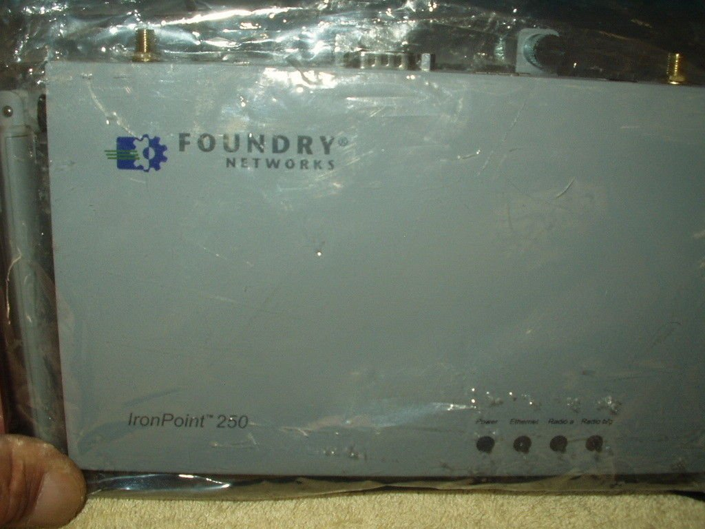 foundry networks ironpoint 250 usa IP 250 sealed unit only #46390-000E