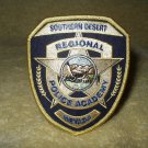 "Southern Desert Regional Police Academy Nevada shoulder patch 4"" x 3.25"""