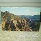 vintage becker's butte salt river canyon arizona postcard 1960's