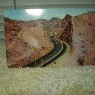 vintage u.s. highway 80 thru telegraph pass east of yuma arizona unused postcard