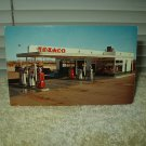 vintage bill's texaco gila bend arizona highway 80 unused postcard