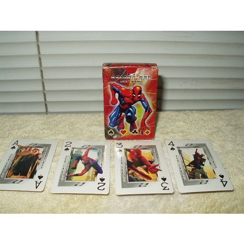 spiderman year 2004 playing cards