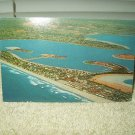 vintage mission beach california from above view postcard 1960 unused