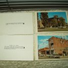 "vintage virginia city carson city nevada mini photo cards 3.5"" x 2.5"" lot of 5 1960's"