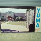 territorial prison yuma arizona vintage post card 1960's unused