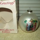 vintage collectible campbell kids ornament xmas christmas bulb 1985