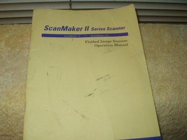 scanmaker 2 or scanmaker 2xe scanner operators manual microtek