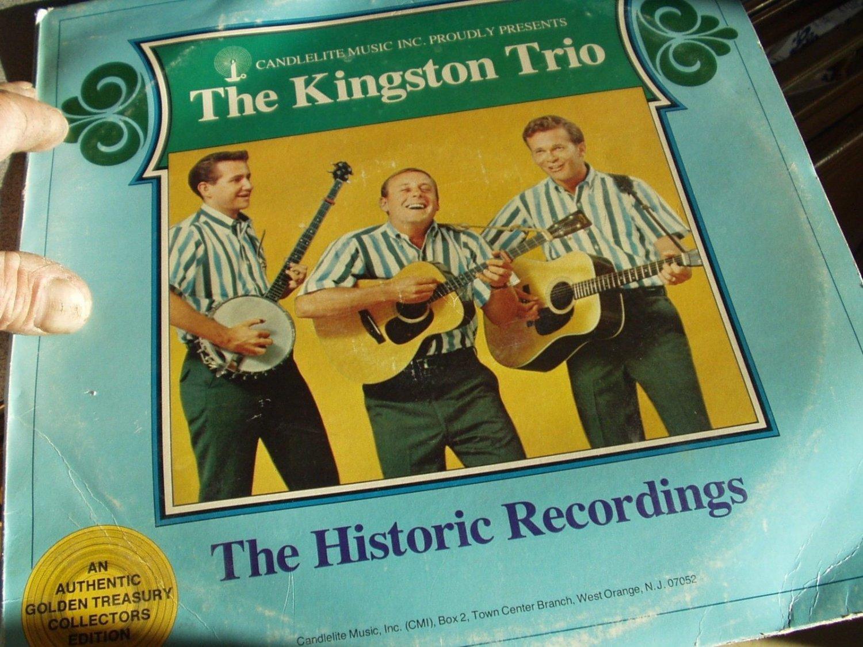 The Kingston Trio - The Historic Recordings set of 2 lp's
