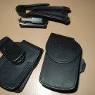 "flip phone case universal w/ swivel belt clip fits 3.5"" tall x 2 "" wide device"