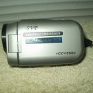 svg digital camcorder hddv5500 w/ working battery & strap handle
