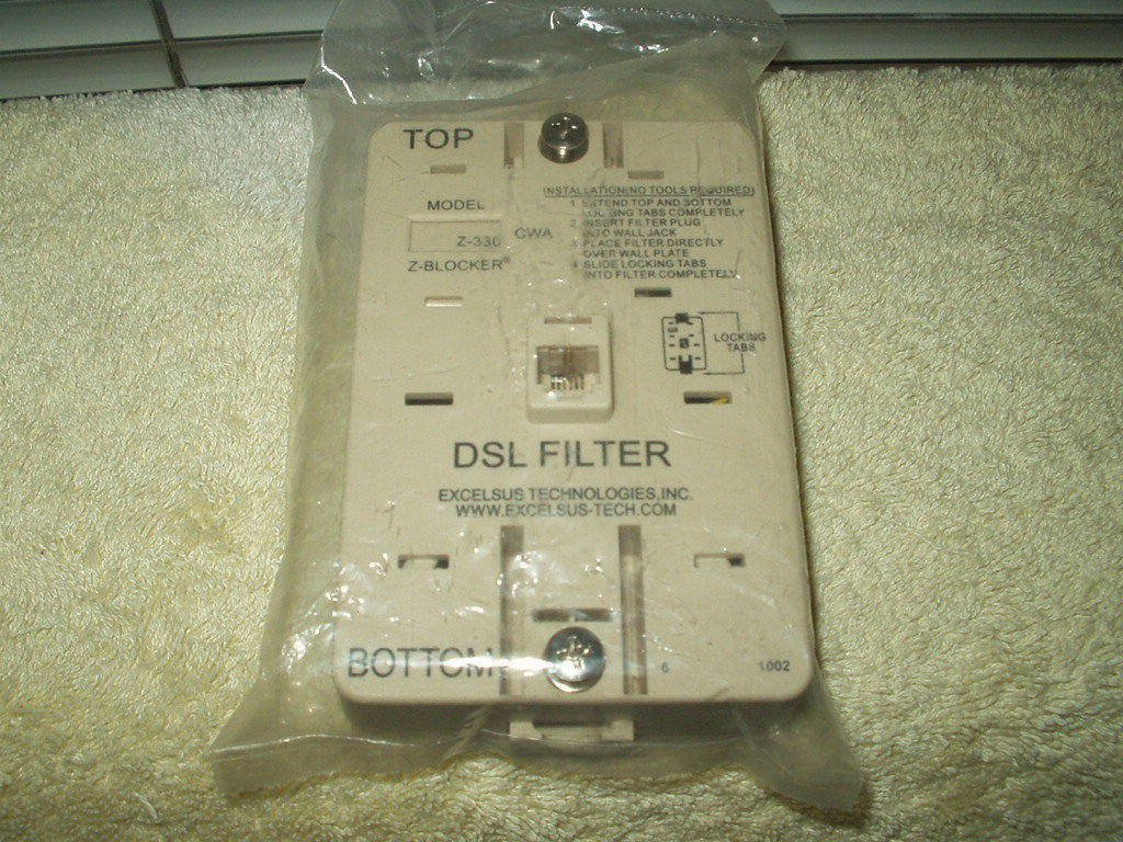 EXCELSUS Z-330 CWA DSL WALL FILTER ~ Z-330 CWA SEALED